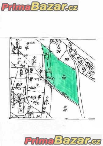 Prodej stavebního pozemku 4 661m2 v Adolfovicích,