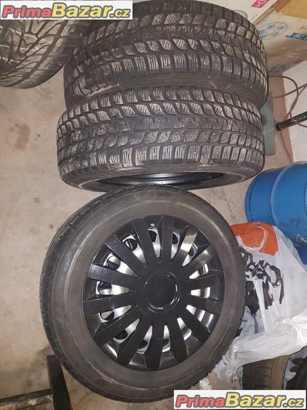 sada plechové disky Mini Cooper s pneu  2160304 5x120 6.5jx16 is46