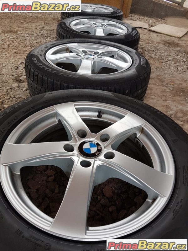 sada Alu kola BMW dezent 5x120 7.5jx17 et35 pneu dot3314