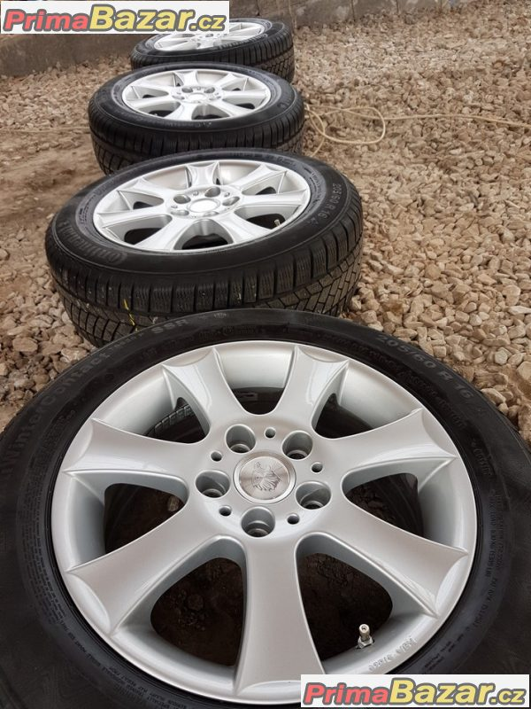 alu sada BMW s pneu Continental 5x120 7jx16 et45