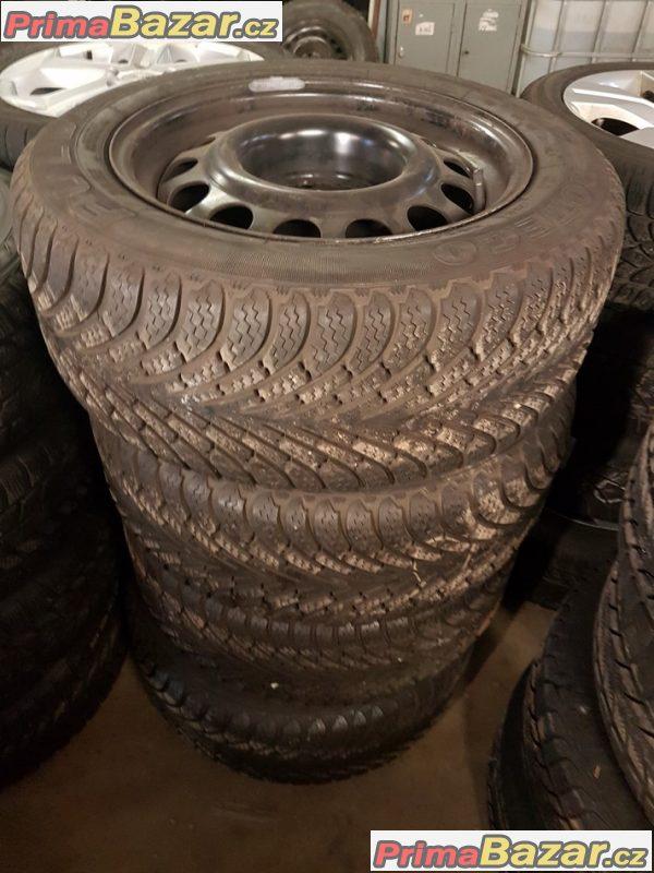 sada plechove disky Mercedes 5x112 8jx16 et35