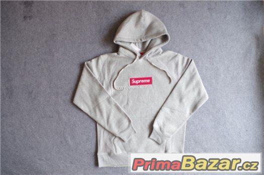 supreme-grey-l-hoodie 34f27153be8