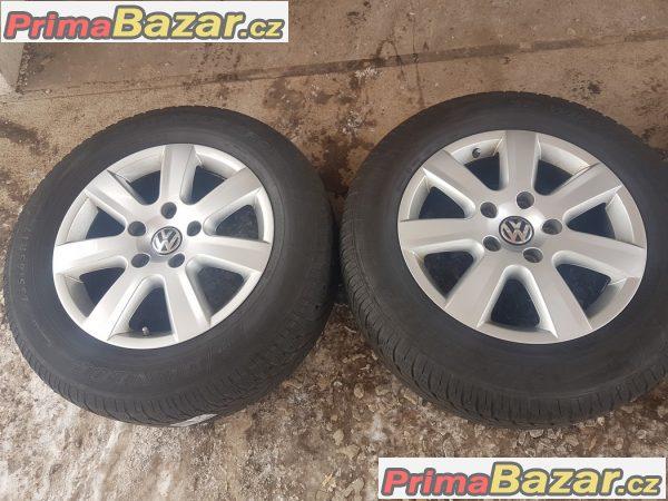 sada alu kola Volkswagen s pneu 7P6601025 Touareg 5x130 7.5jx17