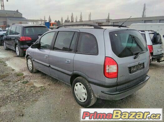 Opel Zafira 2.0 DTi R.v. 7/2004 7 Míst