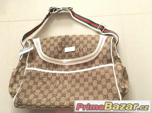 f1ed6ae55 1399,-kč. 1399,-kč. Otočit obrázek. Přebalovací taška / kabelka Gucci ...