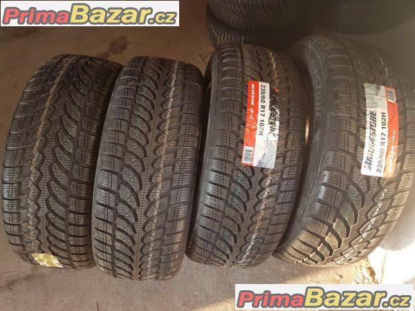 4x nové nepoužité pneu Bridgestone Blizzak LM32 235/60 r17 10