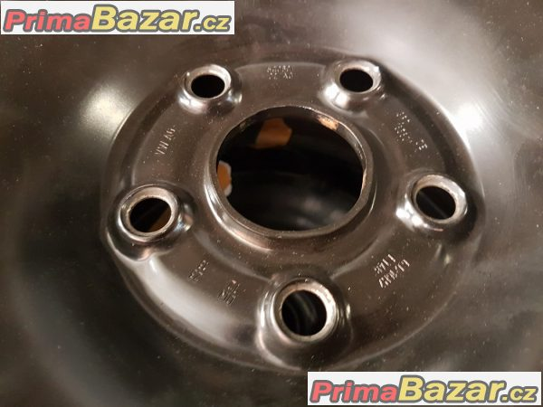 plechové disky s pneu Dunlop sport 4D 5Q0601027ag 5x112 6jx16