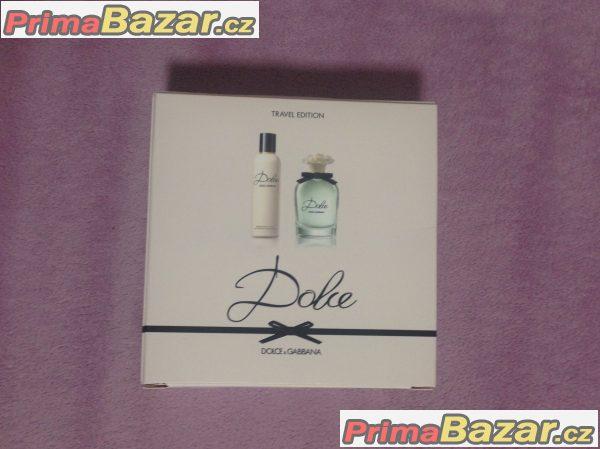 Dolce&Gabana Floral Travel Edition EDP + telove mleko