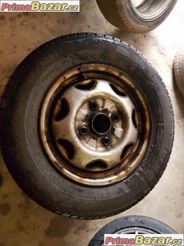 plechobe disky s pneu Sava 4x114.3 165/70