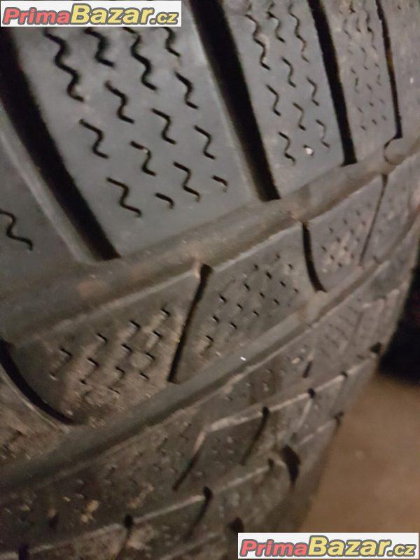 plechové disky s Pirelli 5x112 6.5jx16
