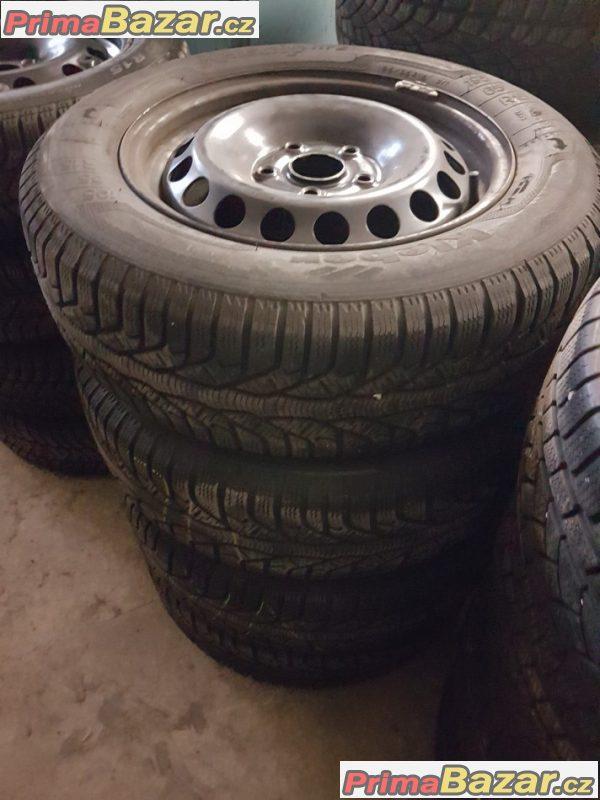 plechové disky s pneu Kleber hp2 r15 5x112 6jx15 et47