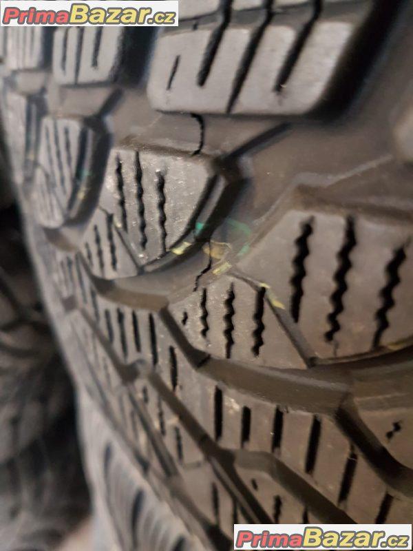 sada plechové disky s pneu Bridgestone lm32 jedna pneu na vymenu 5x112 8P0 6jx16 et50