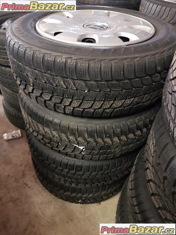 plechové disky s pneu Bridgestone 1K0 5x112 6jx15 et47