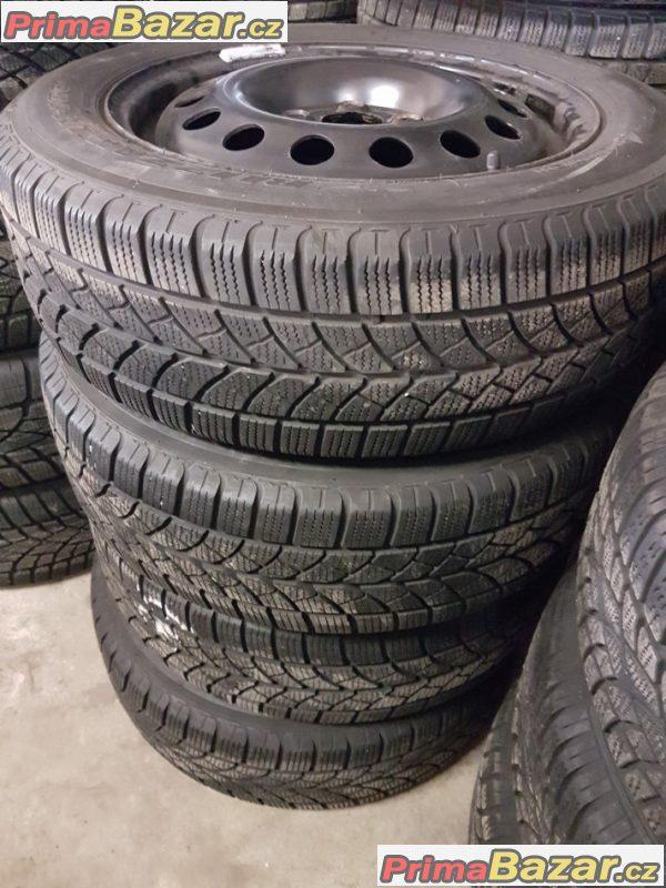 plechové disky s pneu Bridgestone lm18C 7M3601027E 5x112 6jx16 et53