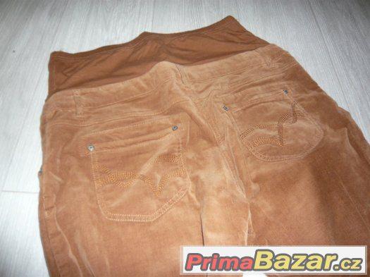 Těhotenské mabšstrové kalhoty C&A