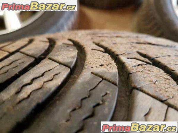 sada Dezent 5x112 7jx16 et35 pneu Michelin A4 green 215/65 r16 98h