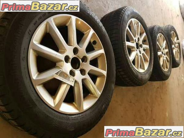 sada alu kola Audi A4 S4 B8 S-line s pneu Continental ts830p 8K0601025 bd 5x112 7jx16 et46