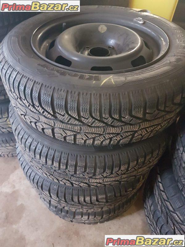 plechové disky Peugeot Citroen 4x108 6jx15 et23 pneu Kleber 2 185/65 r15