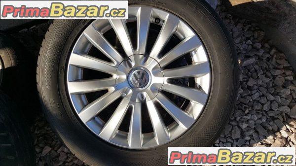 sada alu kola Volkswagen Audi 3D0 s pneu Nokian WR A3 80%  5x112 7.5jx17 et40