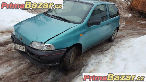 Fiat punto 1.2 r.v. 98