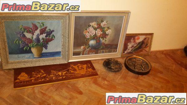 prodám různé obrázky a obrazy
