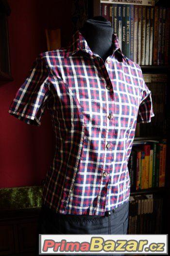 Dámská košile kostka - S