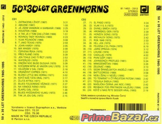 prodam-cd-greenhorns-50-x-30-let-greenhorns-1965-1995
