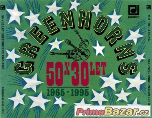 Prodám CD -  Greenhorns – 50 x 30 Let Greenhorns 1965-1995