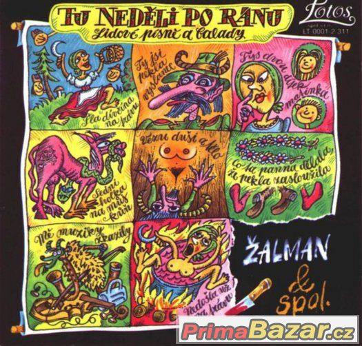 Prodám CD -  Žalman & Spol. – Tu Neděli Po Ránu