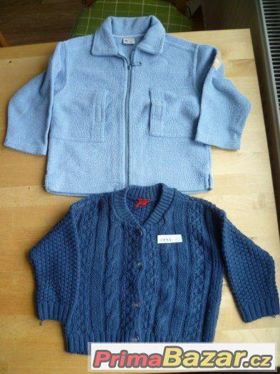dětská mikina + svetr, vel 2 roky