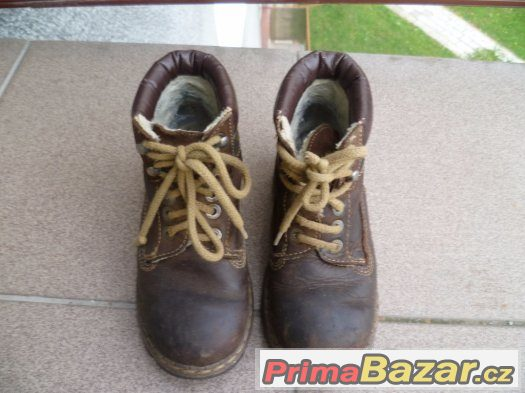 zimní boty vel. 28