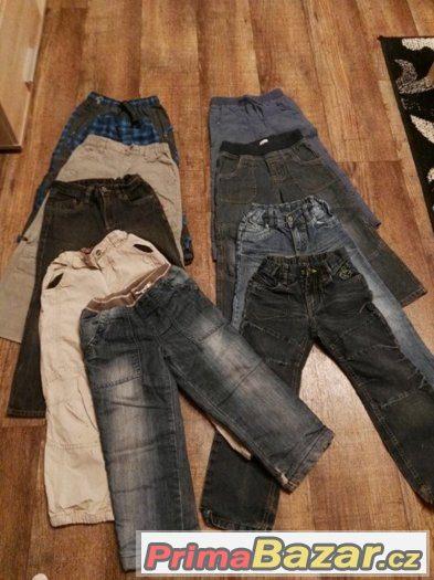prodám 9 ks kalhot