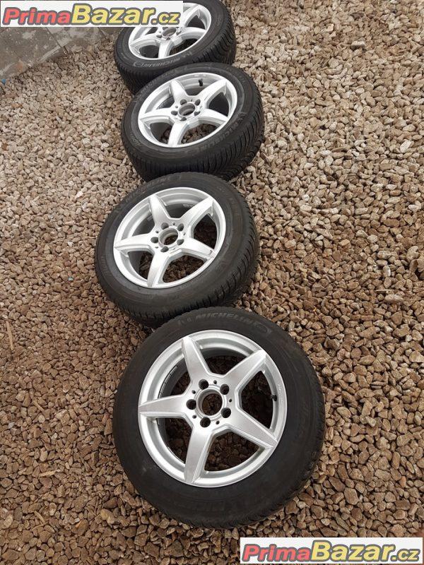 sada alu kola Mercedes 08706 s pneu Michelin 5x112 7jx16 et38