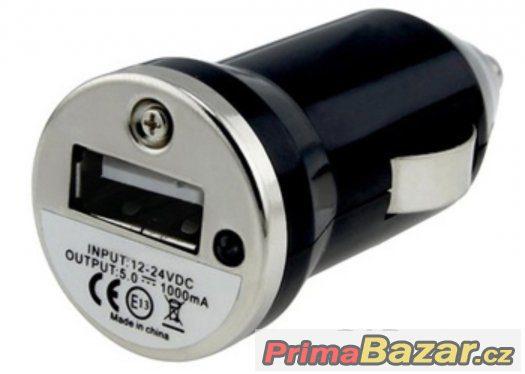Univerzální autonabíječka USB Mini
