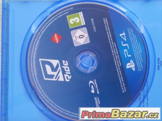 Ride - Motorky PS4 hra