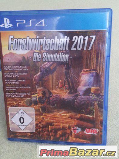 Forstwirtschaft 2017 Hra na PS4