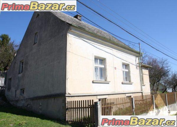 Prodej rodinného domu 3+1 se zahradou v Miřejovicích okr. Litoměřice