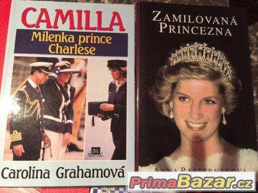 Knihy Kamila a Zamilovaná princezna Diana