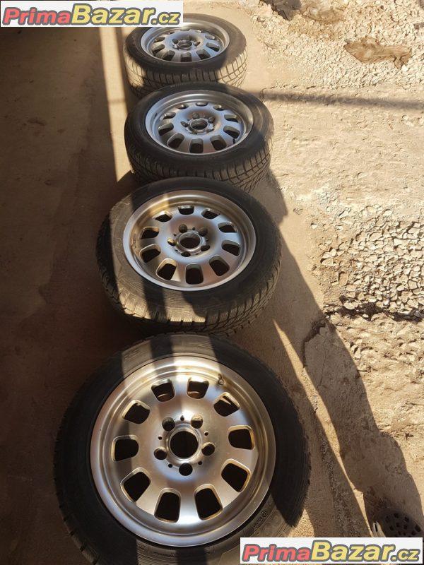 sada alu kola BMW s pneu zanovni Hankook 5x120 7jx16 is47