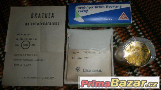 Autolékárnička Sanitas z roku 1980
