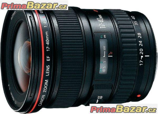 Canon EF 17-40 mm f/4 L sl. CLONA 1A