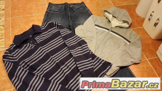 Balík oblečení na kluka - vel.170 - 14-16 let - levně