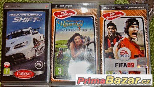 hry pro Playstation PSP Sony