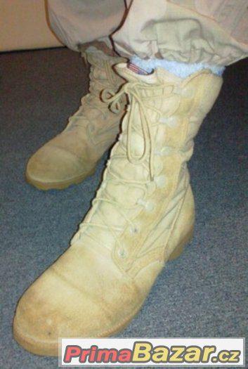 U.S.pouštní boty vel.12-13,velmi pěkné, originální...a jiné