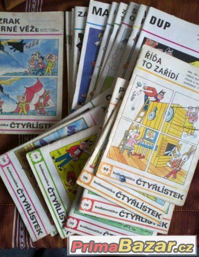 Čtyřlístek- i pro sběratele. Z let 1981 -91. Na výběr