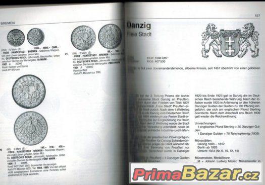 Katalog na mince/ Německo 1800-2013-komplet.Super-špička