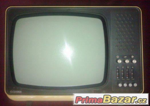 RETRO-televizor Tesla Satelit-přenosný-cca 1975+ návod