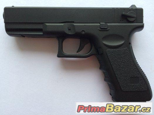 Airsoft elektrická celokovová replika pistole Glock