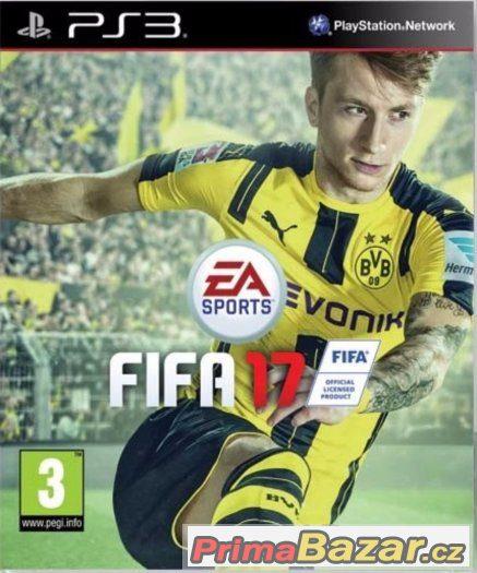 FIFA 17 - NOVÁ ZABALENÁ - PS3 - PLAYSTATION 3