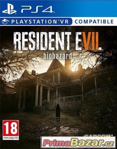 RESIDENT EVIL 7 - NOVÁ - PS4 - PLAYSTATION 4